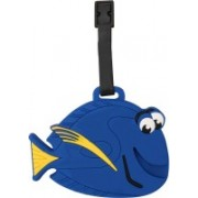 Super Drool The Lil Fish Luggage Tag(Blue)