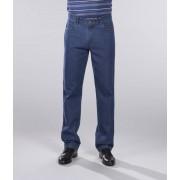 Jeans mit Komfortbund und 2 geknöpften Gesäßtaschen, Farbe bluestone, Gr.56