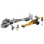 LEGO® City Great Vehicles Transportor de dragster - L60151