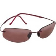 Maui Jim Rectangular Sunglasses(Brown)