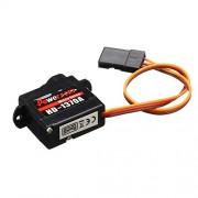 Rishil World Power HD-1370A 0.6KG 3.7g Micro Steel Ring Engine Micro Servo Compatible with Futaba/JR RC Car Part