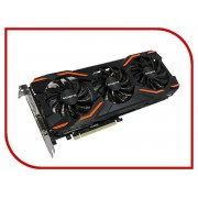 Видеокарта GigaByte GeForce GTX 1080 1632Mhz PCI-E 3.0 8192Mb 10010Mhz 256 bit DVI HDMI GV-N1080WF3OC-8GD