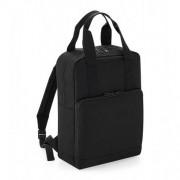 Bag base Twin Handle Backpack Black