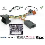 COMMANDE VOLANT Peugeot 208 2012- - Pour CLARION complet avec interface specifique