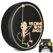 Capa de Estepe Crossfox 2005 a 2019 Welcome Jungle Com Cadeado