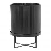 Ferm Living Bau Pot - Large/Zwart