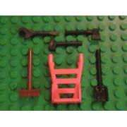 Lego City Construction Tool Set of 6 Pieces Minifigure Accessories