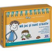 Ma joc si sunt creativ - un joc pe zi pentru a dezvolta creativitatea (calendar)/Karine Saunier