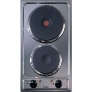 Plia Electrica Incorporabila Amica PE0420, 2 arzatoare, 29 cm, Inox