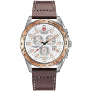Ceas barbatesc Swiss Military Hanowa 06-4225.04.001.09 Crusader Chrono 43mm 10ATM