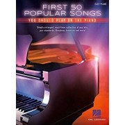 First 50 Popular Songs You Should Play on the Piano, Paperback/Hal Leonard Corp