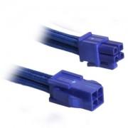 Cablu prelungitor BitFenix Alchemy 4-pini ATX12V, 45cm, blue/blue, BFA-MSC-4ATX45BB-RP