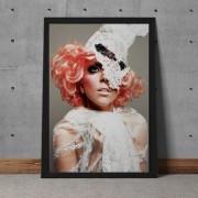 Quadro Decorativo Lady Gaga 35x25