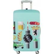 LOQI Pokrowiec na walizkę LOQI Hey Berlin