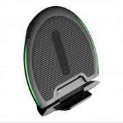 Baseus Összecsukható többfunkciós vezeték nélküli töltő Qi induktív Pad 10W + USB / mikro USB-1M fekete (WXZD-01)