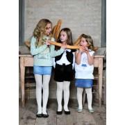 Trasparenze - Exclusive floral pattern childrens tights Campanellino