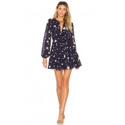 Lovers + Friends x REVOLVE Lana Dress in Navy. - size M (also in L,S,XS)