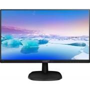 """Philips V-line 223V7QHAB - LED-monitor - 22"""" (21.5"""" zichtbaar) - 1920 x 1080 Full HD (1080p) - IPS - 250 cd/m² - 1000:1"""