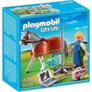 Строител ПЛЕЙМОБИЛ - Кон с рентгенолог, 5533 Playmobil, 291020