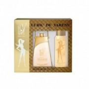 Ulric De Varens Confezione regalo - eau de parfum pour femme gold-issime 75 ml vapo + deodorante