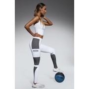 Női sportos leggings Passion white