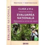 Evaluare Nationala Cls 6 Matematica Si Stiinte Ale Naturii Ed.2015 - Elena Crocnan
