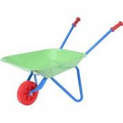 Merkloos Metalen speelgoed kruiwagen voor kinderen