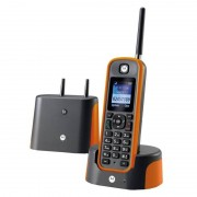 Motorola O201 Telefone Sem Fios de Longo Alcance Laranja