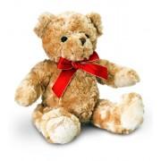 Ursulet de plus cu funda rosie Keel Toys 25 cm