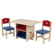 Kidkraft Stjärna lekbord och två stolar - Kidkraft Barnmöbler 26912