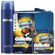 Gillette Fusion5 Men's ProGlide Power Bundle (Razor Handle, 4 Count Blade and Shave Prep 200ml)