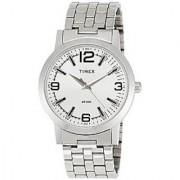 Timex Quartz Silver Round Men Watch TI000T11200