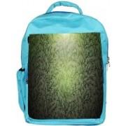 Snoogg Eco Friendly Canvas Small Grass Design Designer Backpack Rucksack School Travel Unisex Casual Canvas Bag Bookbag Satchel 5 L Backpack(Blue)