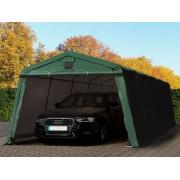 taltpartner.se Garagetält 3,3x7,7m PVC 500 g/m² mörkgrön vattentät