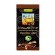Ciocolata Nirwana Neagra 55%cacao 100gr Rapunzel
