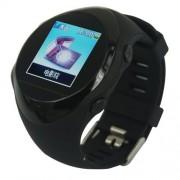 Ръчен часовник с вграден GPS тракер и скрита камера