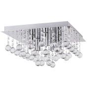 Plafoniera Corinna structura din metal si elemente decorative din cristal acrilic 2618 Rabalux