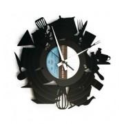 Disc'O'Clock Orologio Moderno Da Parete Kitchen Madness