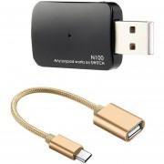 Switch Converter Con Tipo C OTG Cable, Soporte TV / Modo Portátil