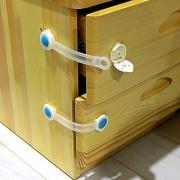 Futaba Baby Door Lock For Cabinet/Door /Drawer/Fridge - 2 pcs
