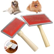 Dog Cat Pet Grooming Hair Brush Comb Slicker Tool Pet Beauty