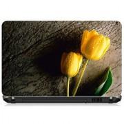 Yellow Rose Laptop Skin 15.6 - High Quality 3M Vinyl ( Buy 1 Get 1 Free )