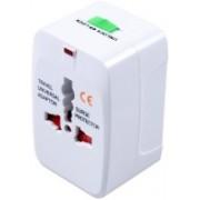 Dealcrox Square White adaptor Worldwide Adaptor(White)