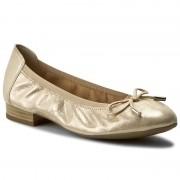 Балеринки CAPRICE - 9-22166-28 Beige Glitter 409
