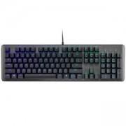 Геймърска механична клавиатура, Cooler Master CK550, RGB LED подсветка, механични бутони Gateron, черен, жична, CM-KEY-CK-550-GKGR1-US