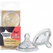 tommee tippee Tetina Closer To Nature Tommee Tippee 2 Uds