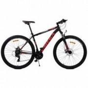 Bicicleta mountainbike Omega Thomas 27.5 2018 negru rosu