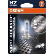 Bec auto Osram H7 12V 55W PX26d Night Breaker Unlimited Blister
