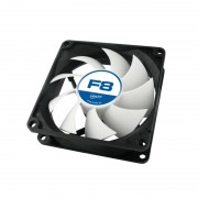 """FAN FOR CASE ARCTIC """"F8"""" 80x80x25 mm, low noise FD bearing (AFACO-08000-GBA01)"""