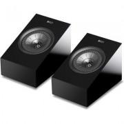 KEF R8a pair BLK Dolby Atmos speakers (Gloss Black)